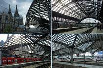Der Kölner Hauptbahnhof - Eine Hommage von Hartmut Binder