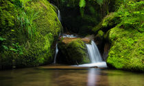 Tropical Waterfall by h3bo3