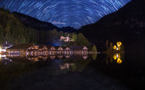 Koenigssee and Startrails by h3bo3