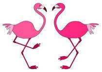 Flamingos von Jutta Ehrlich