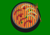Würstchen vom Grill by Jutta Ehrlich