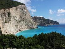 Wunderschöne Felsenküste mit Strand Bucht von raphaela4you