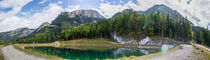 Alpine lake Panorama by h3bo3