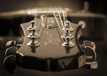 Guitar in sepia von h3bo3