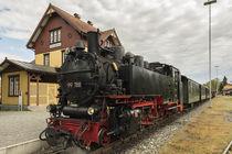 "Lok ""Berta"" | Bahnhof Ochsenhausen von Thomas Keller"