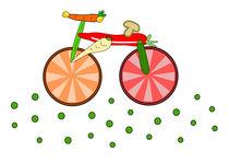 Essbares Fahrrad von Jutta Ehrlich