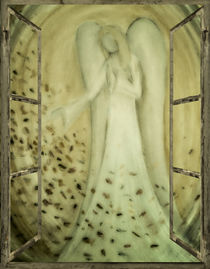 Engelbild - Engel am Fenster by Chris Berger