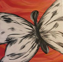 Dalmatian Butterfly von A. Hawkins