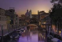 Venice behind the boatyard(San Trovaso) by Maurizio Fecchio