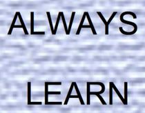 ALWAYS LEARN von bazaar