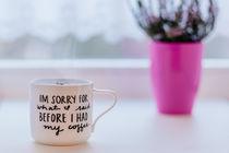 i`m sorry coffe mug by bazaar