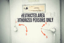 restricted area by bazaar