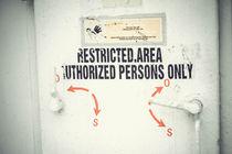 restricted area von bazaar