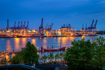 Hafenlichter @ Elbe3 by photobiahamburg