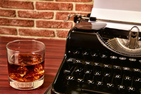 Whisky-schreibmaschine