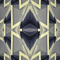 Retro Architektur im Spiegelbild von kattobello