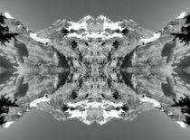 Retro Oeschinensee im Spiegelbild von kattobello