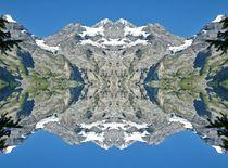 Oeschinensee mit Spiegelbild 1 by kattobello