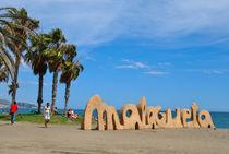 Malagueta beach  von Azzurra Di Pietro