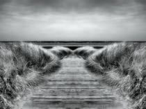 Retro Weg zur Nordsee von kattobello