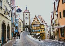 Rothenburg ob der Tauber  by Olesya Chernikova