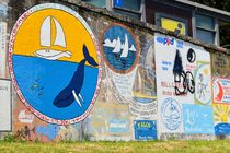 Hafenmalerei mit Wal by art-dellas