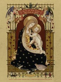 Madonna d'Angicourt - aka Madonna della Quaglia von ex-voto