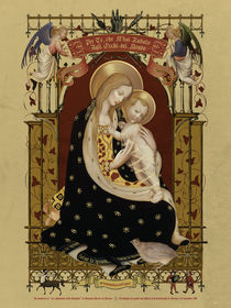Madonna d'Angicourt - aka Madonna della Quaglia by ex-voto