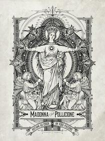 Madonna del Pollicione by ex-voto