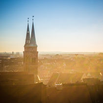 Nürnberg am Abend von Simon Andreas Peter