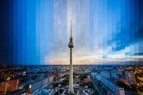 Berlin Fernsehturm Slice #2 von Simon Andreas Peter