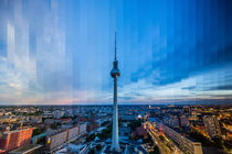 Berlin Fernsehturm Slice #1 by Simon Andreas Peter
