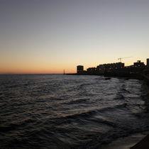 Montevideo Sunset by Ricardo Viana da Costa