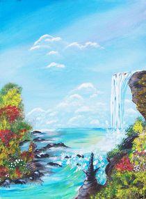 Wasserfall von Vera Markgraf