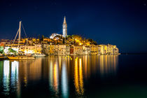 Rovinj Old Town At Night von Lev Kaytsner