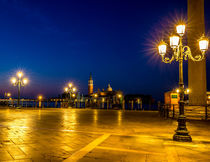 Sunrise at San Marco Plaza in Venice by Lev Kaytsner