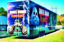 Grave Digger experience truck  by lanjee chee