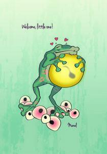 Welcome, little one! von manelprints