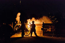 Night Cannon Firing at Wilson's Creek NB