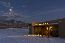 Taos, New Mexico Christmas Eve