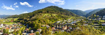 Panorama der Stadt Hornberg im Schwarzwald by Thomas Klee