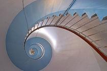 Treppe im Leuchtturm  Lyngvig Fyr (Hvide Sande)  von magdeburgerin