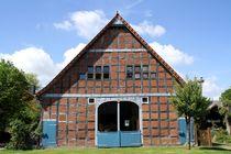 Fachwerkbiebel im Rundlingsdorf Satemin by Anja  Bagunk