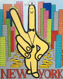FINGER IN NEW YORK by Alla GrAnde