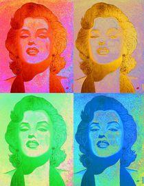 MARILYN_Collage von Alla GrAnde