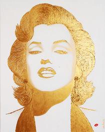 GOLD HOMAGE MARILYN von Alla GrAnde