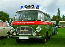 Oldtimer der DDR - Polizeibarkas B 1000 von magdeburgerin