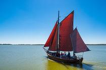 Zeesboot auf dem Bodden by Rico Ködder