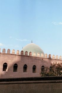 Pastell colour dipped mosque von Paula Linke