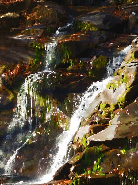 Peaceful-waterfall